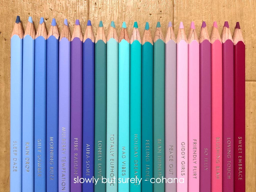フェリシモ色鉛筆 発色