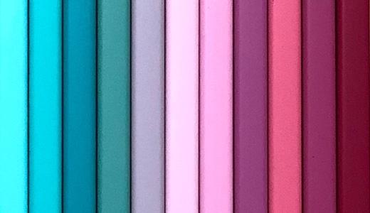 フェリシモ500色色鉛筆。「MOOD」241〜260番。