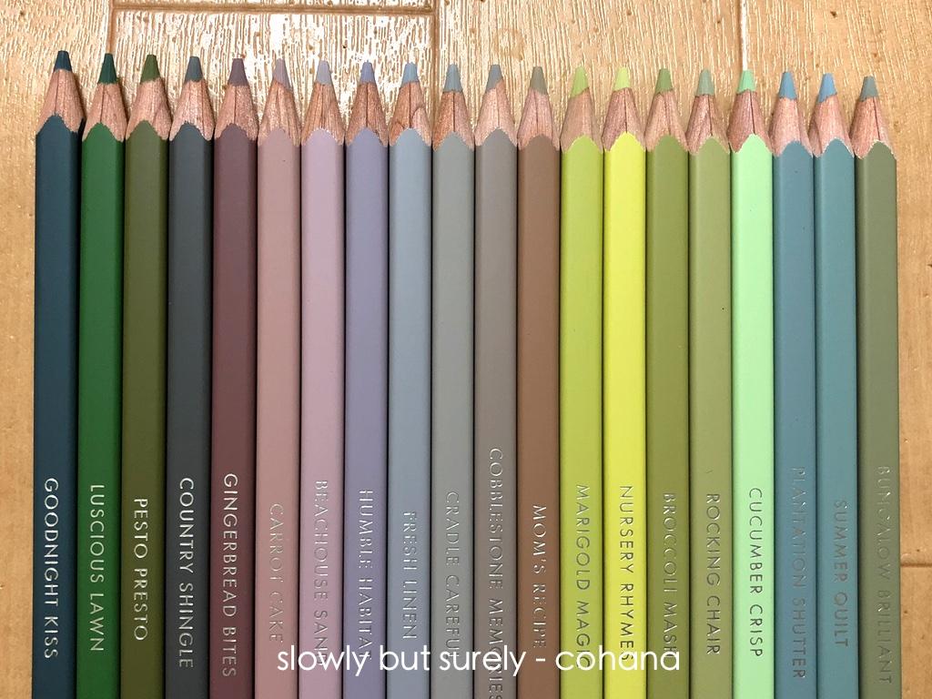 描き味 発色