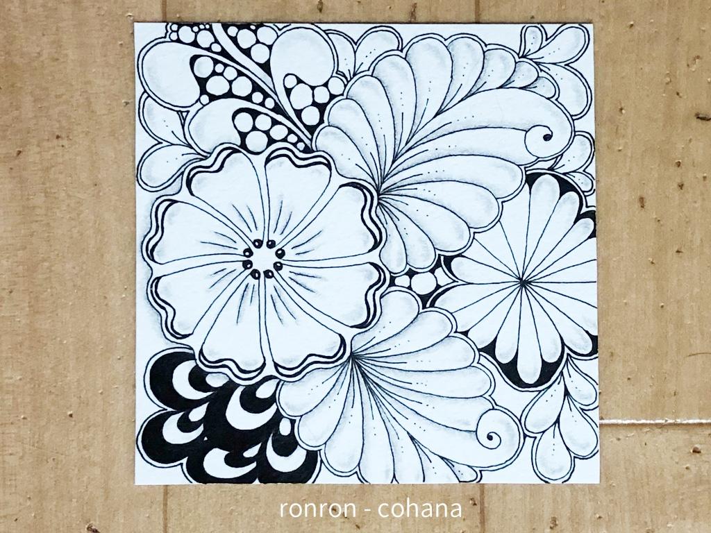 zentangle 画用紙